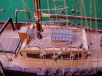Dettaglio del cassero - Detail of the quarterdeck