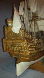 Vista dello speccio di poppa - A view of the stern