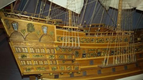 Il cassero da dritta - The quarterdeck from starboard