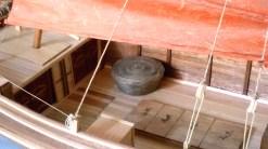 Giunca cinese, dettaglio del cesto - Chinese junk, detail of the basket