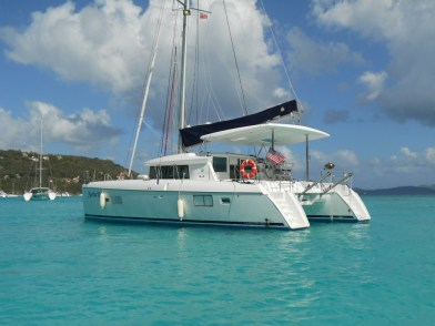 Our home for the week in the Caribbean, the Martha R