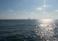 Off the coast of San Diego