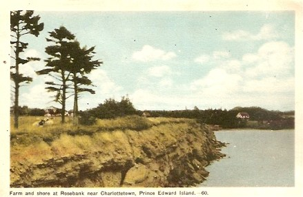 Bayfield House in Keppoch seen from Trout Point. ca. 1950