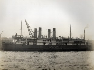 Completed vessel. Photo: The Engineer 16 June 1915 p. 62