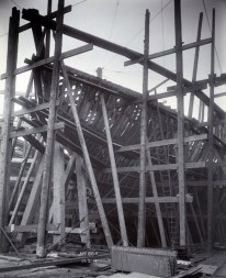 Bow framing, port side 17 March 1914. Photo: Tyne & Wear Archives & Museums #467290