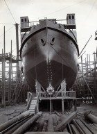 Bow propeller has not yet been mounted Photo: Tyne & Wear Archives & Museums #467294