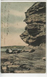 Another version of the Carter & Co. card of the harbour entrance.