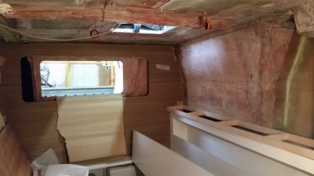 Lindsay's cabin - starboard aft