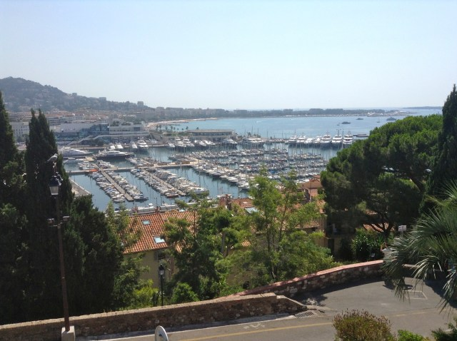 Cannes from on high.