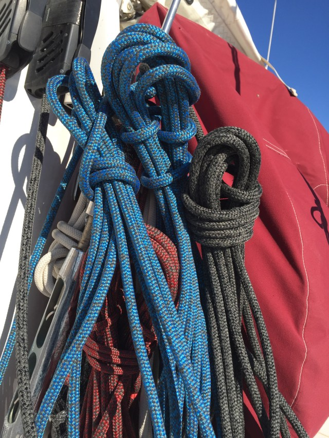 New halyards