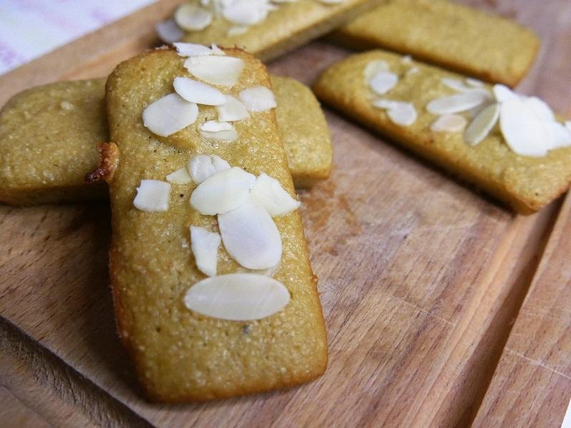 Gâteaux aux amandes faibles en sucre