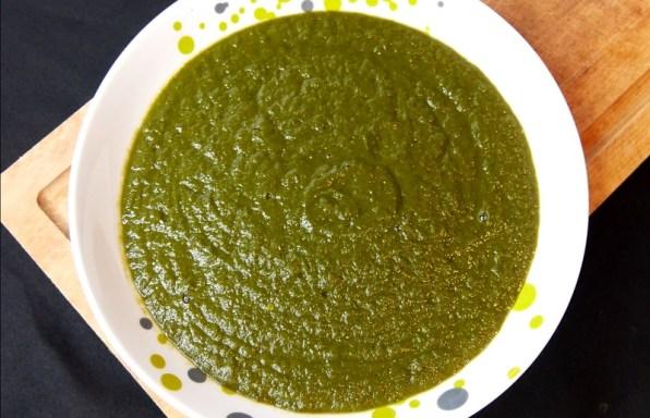 Soupe Kale & Courgette