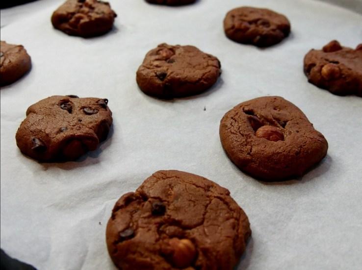 Cookies à la farine de pois chiches A la sortie du four 2 - Coup de cœur de Février : Cookies à la farine de pois-chiches