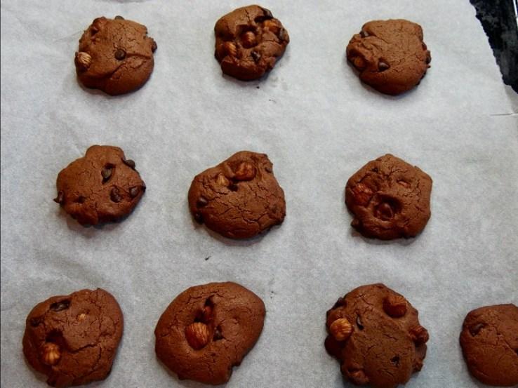 Cookies à la farine de pois chiches A la sortie du four - Coup de cœur de Février : Cookies à la farine de pois-chiches