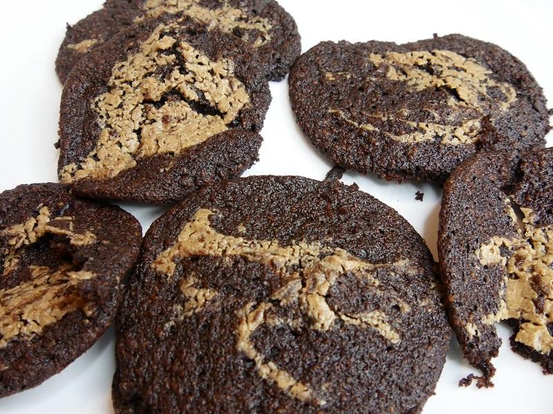 Cookies moelleux chocolat et beurre de cacahuète
