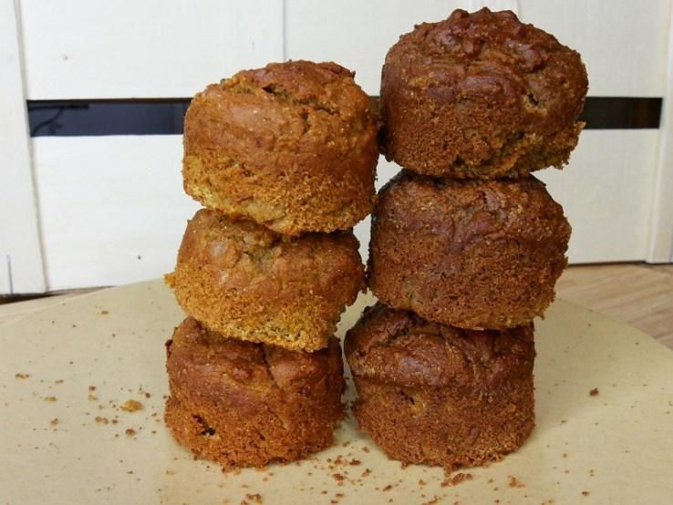 Muffins à la carotte farine de pois chiches - Adapter une recette : les produits sucrants.