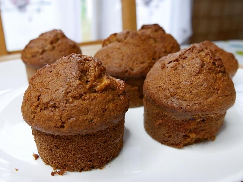 Muffins pomme avoine
