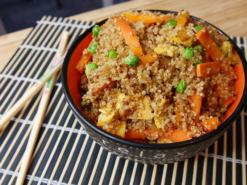 Quinoa Cantonais