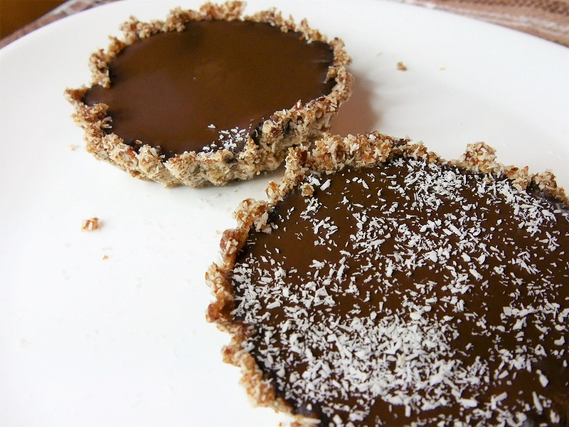 Tartelette chocolat et coco