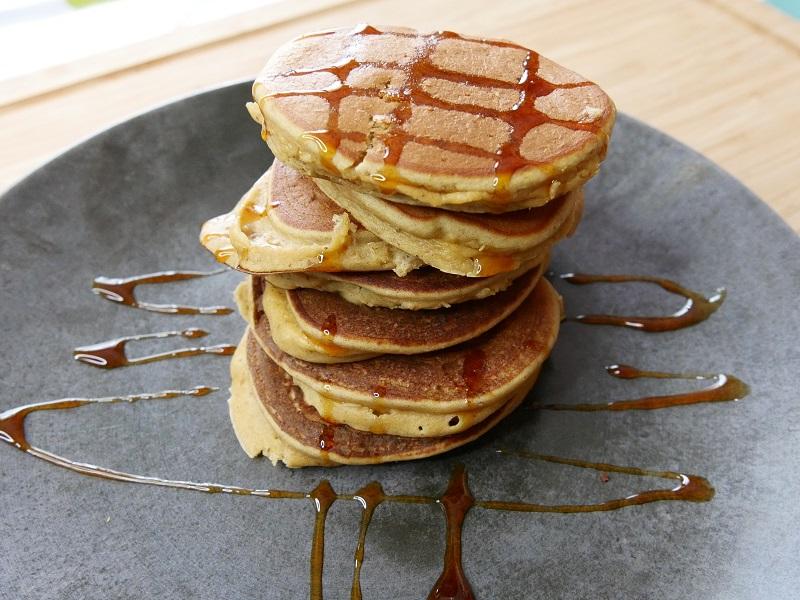 Pancakes aux pois-chiches