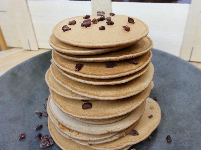 Pancakes à la farine de châtaigne - Pancakes à la farine de châtaigne
