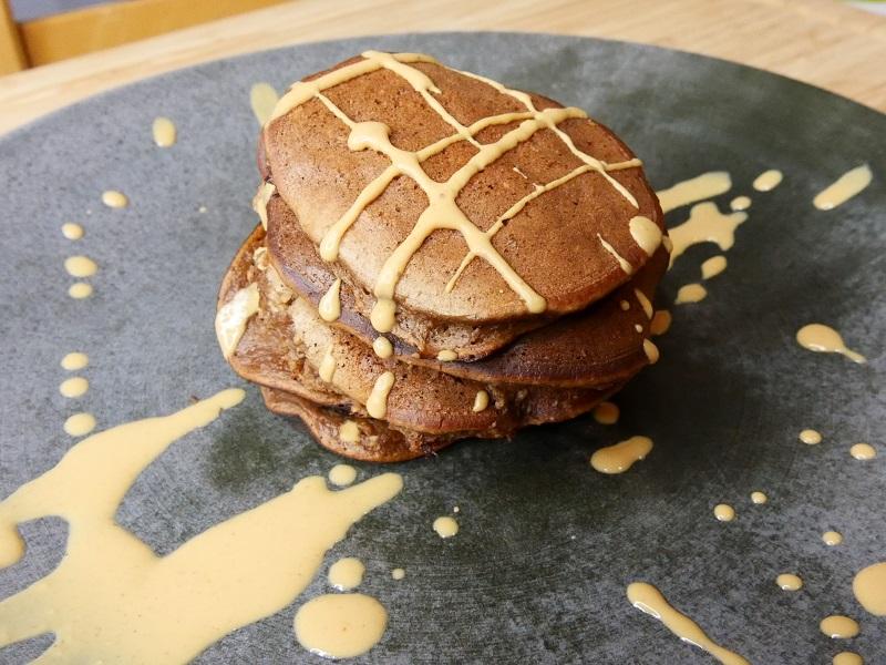 Pancakes banane-chocolat