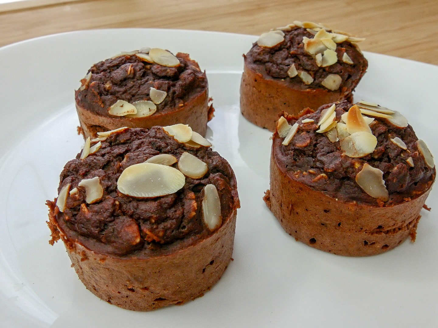 Muffins moelleux avoine & cacao