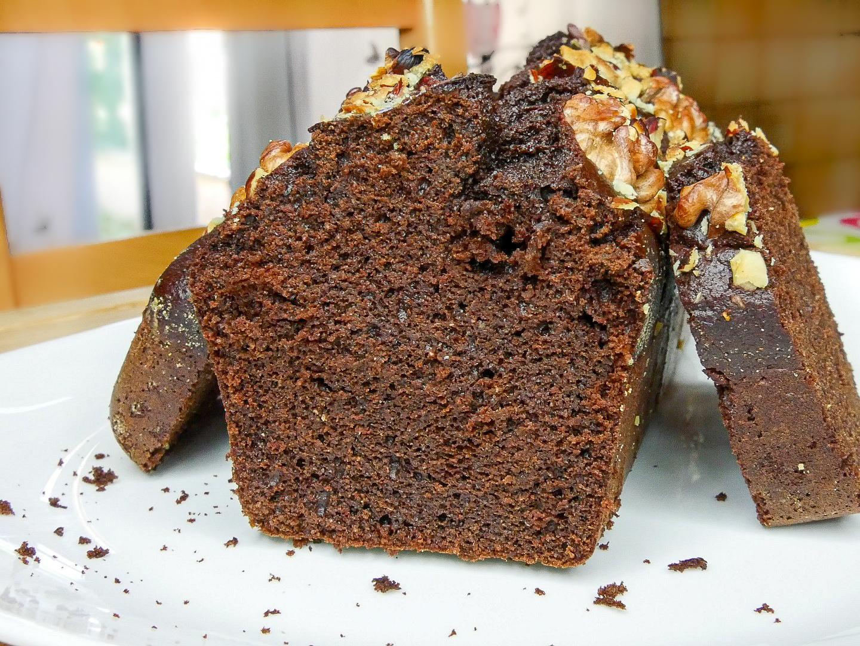 Cake au chocolat à la farine de pois chiche - Cake au Chocolat à la Farine de Pois-Chiches (Sans Gluten)
