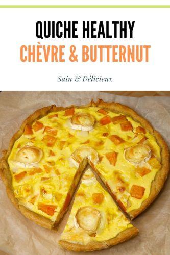 quiche healthy chèvre butternut 2 - Quiche Chèvre & Butternut