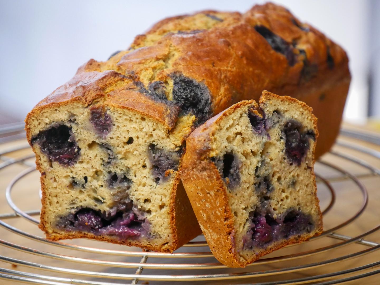 Cake Myrtille Amande - Cake Myrtille & Amande (Sans Sucres Ajoutés)