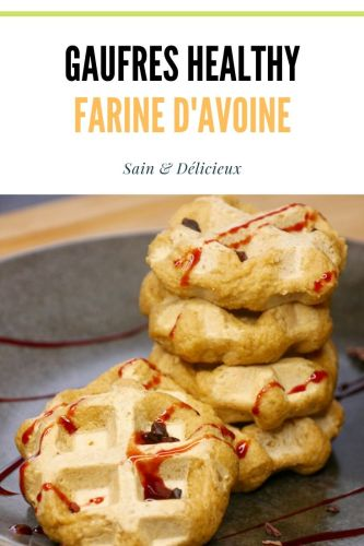 Gaufres Healthy Farine Avoine 1 - Gaufres à l'Avoine