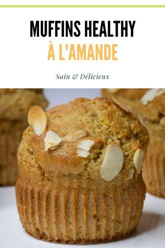 Muffins healthy à lamande 3 - Muffins à l'Amande (Sans Sucres Ajoutés)