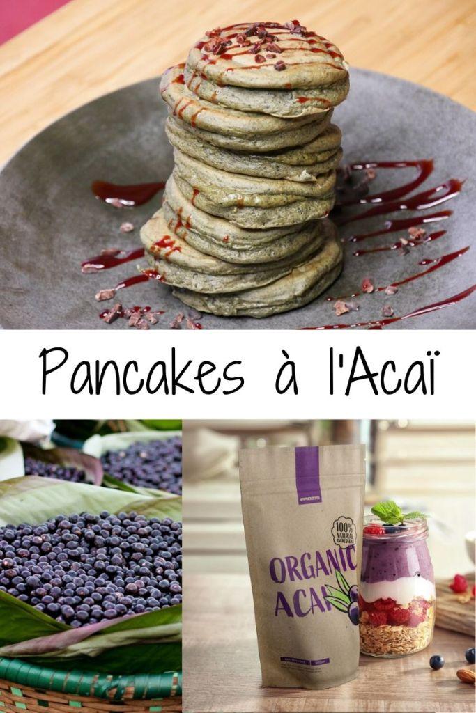 Pancakes à LAcaï - INSTA VLOG 02 : Pancakes Licorne 🦄 (à l'Açaï)