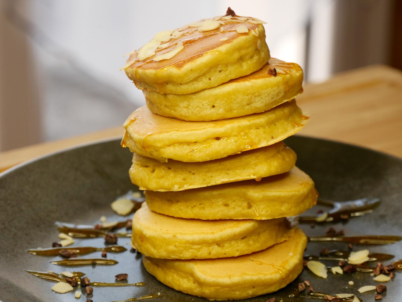 Pancakes Healthy à lAmande - Pancakes à l'Amande (Sans Sucres Ajoutés)
