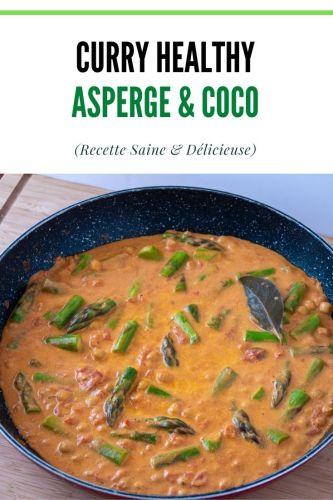 Curry Asperges Vertes Coco 1 - Curry Asperges Vertes & Coco