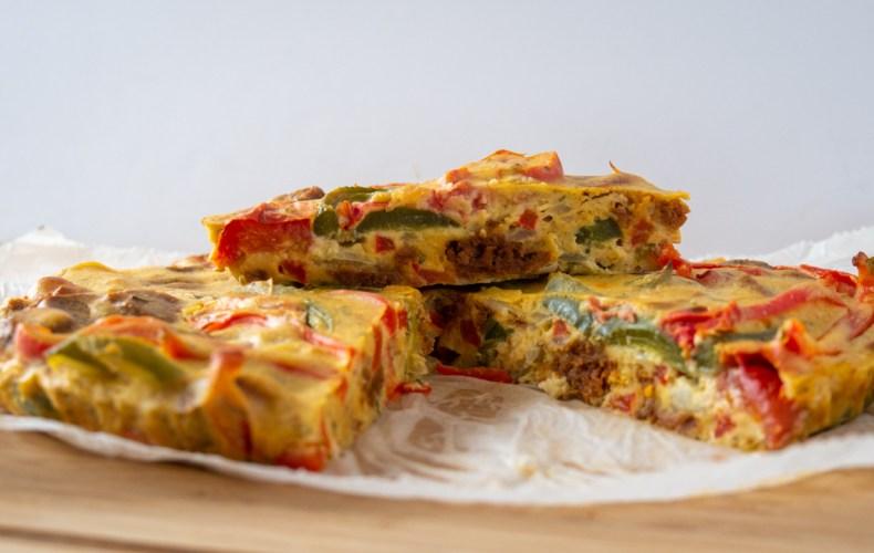 Quiche Protéinée Poivron & Chorizo (HEALTHY)