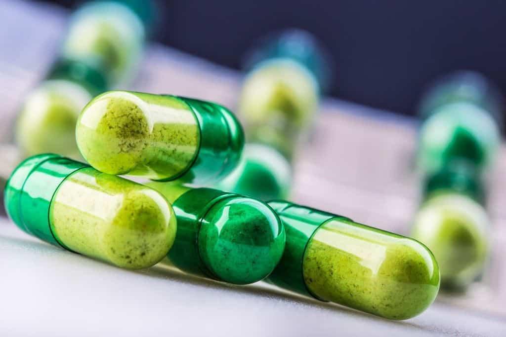 capsule au cannabis