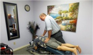 upper back pain, chiropractor, port orange