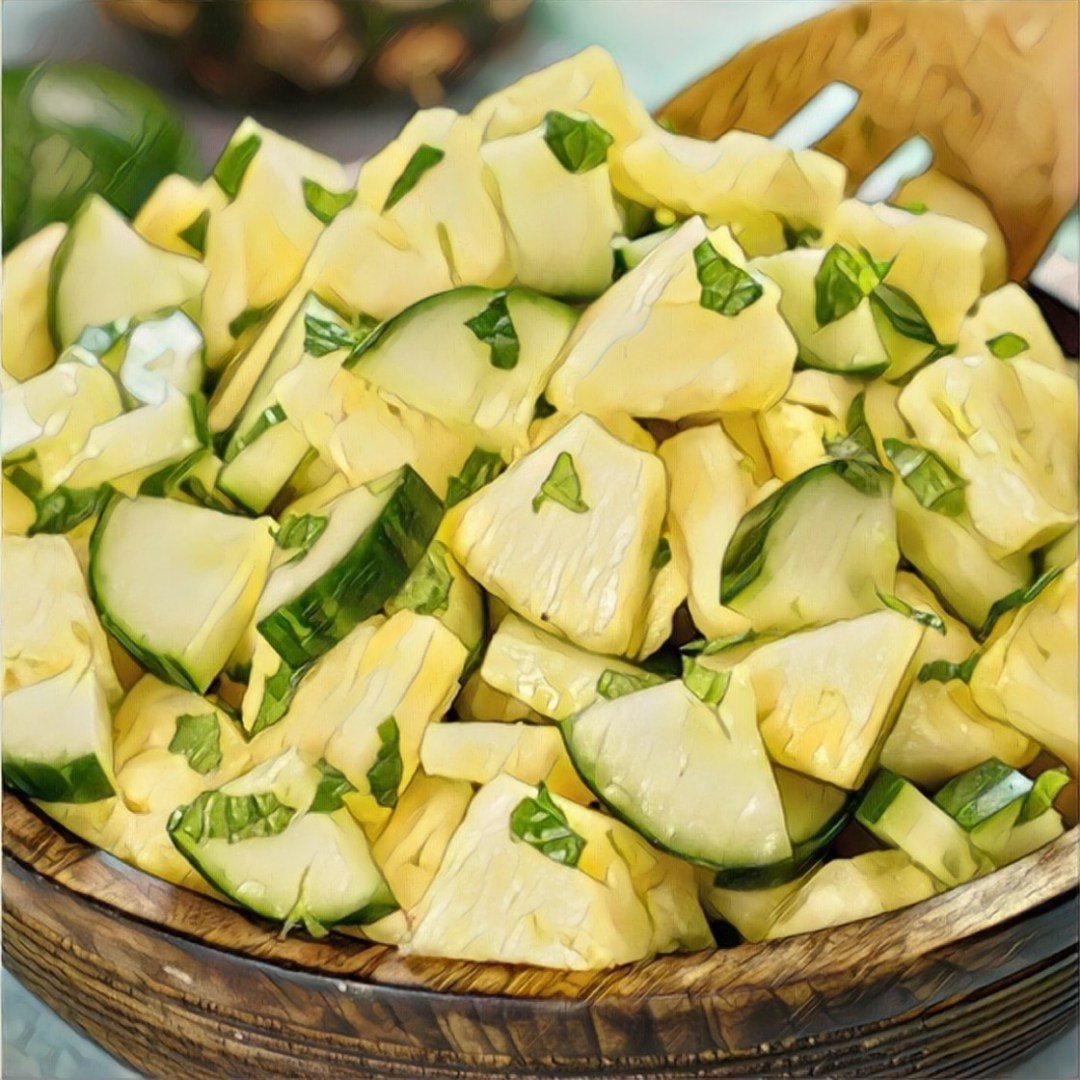 Cucumber & Pineapple image