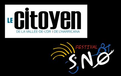 Le Citoyen parle de SNØ