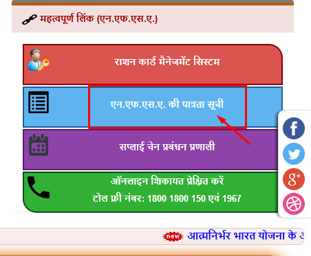 How to check UP Ration Card List Online at fcs.up.gov.in?