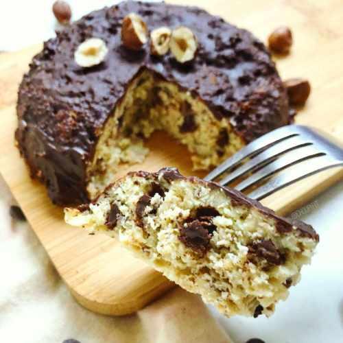 Bowlcake protéiné sans banane à la noisette