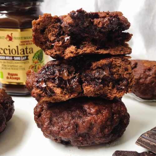 Pain au cacao cuit à la vapeur
