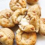 recette healthy et allégé de muffin au jambon et fromage protéiné