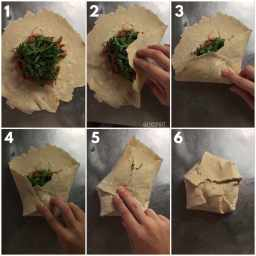 Comment plier un wrap de façon originale en photos