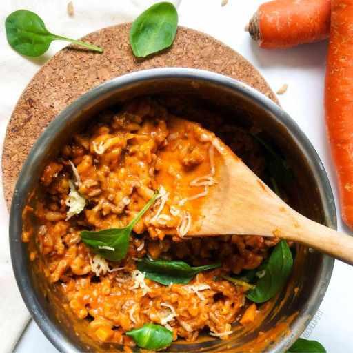 recette healthy et rapide de one pot pasta façon bolognaise avec viande haché 5% sans lactose