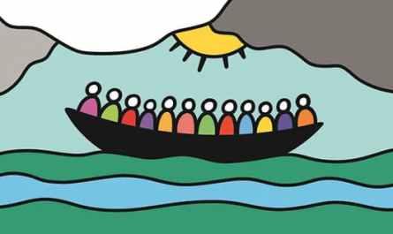 Foi et Lumière, logo avec la barque