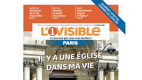 Journal spécial sur le Denier de l'Église de Paris 2020, L'invisible