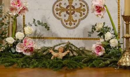 messe de la nuit à Saint-Ambroise 2020