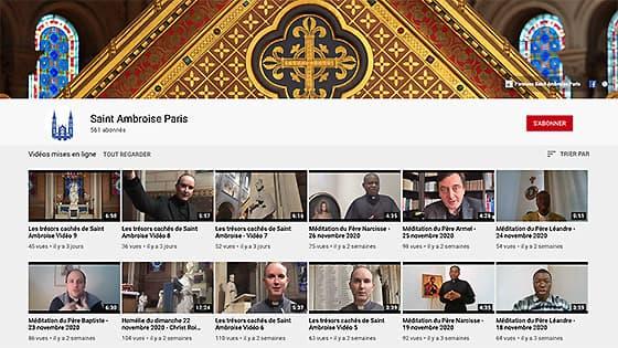Les Trésors cachés de Saint-Ambroise, Affiche YouTube